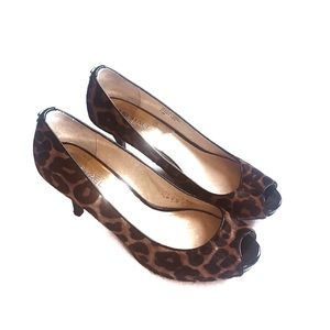Michael Kors Calf Hair Animal Print Pumps